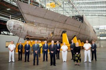 Australian MoD officially launches Arafura-class OPV Enterprise
