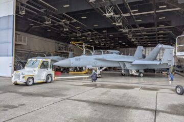 Boeing Inducts First EA-18G Growler for US Navy Modification Program