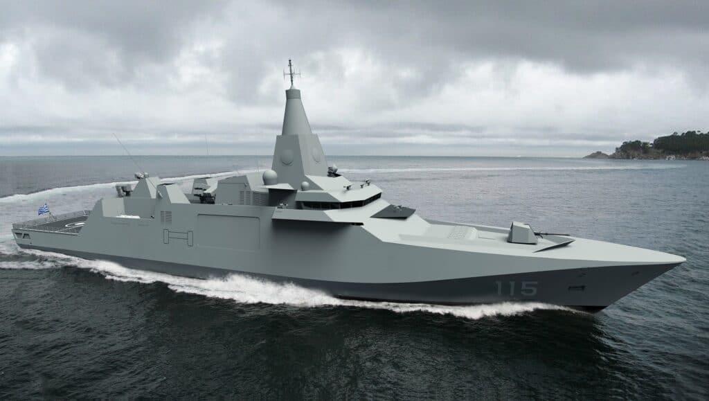 Damen Sigma 11515 Frigate for Hellenic Navy