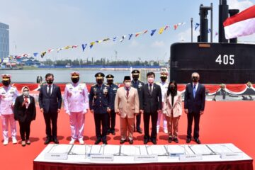 First Indonesian-built Submarine Handed Over to TNI AL