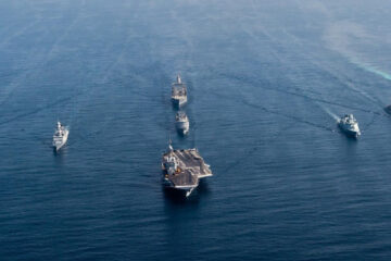 France Assumes Command of US Task Force 50