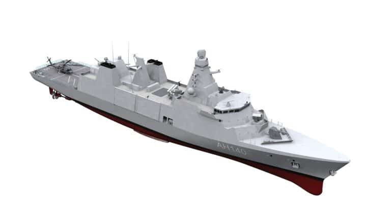 Babcock's Frigate Proposal for the Hellenic Navy: Arrowhead 140 Type 31