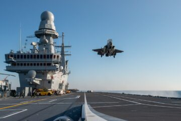 Italian Navy's Cavour aircraft carrier certified for F-35B operation