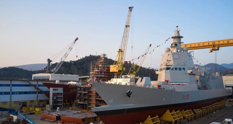 "Italian Navy's third PPA ""Raimondo Montecuccoli"""