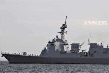 Japan Commissions New Maya-class AEGIS Destroyer JS Haguro はぐろ DDG-180