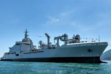 Italian Navy Takes Delivery of LSS Vulcano from Fincantieri