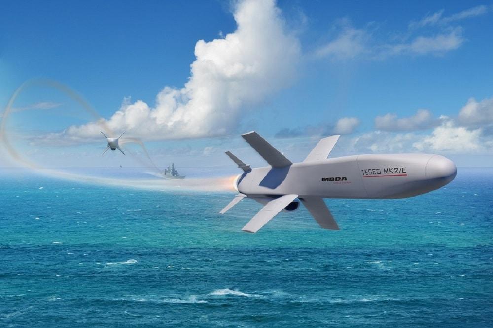 MBDA to supply new Teseo Mk2E anti-ship missile to Italian Navy