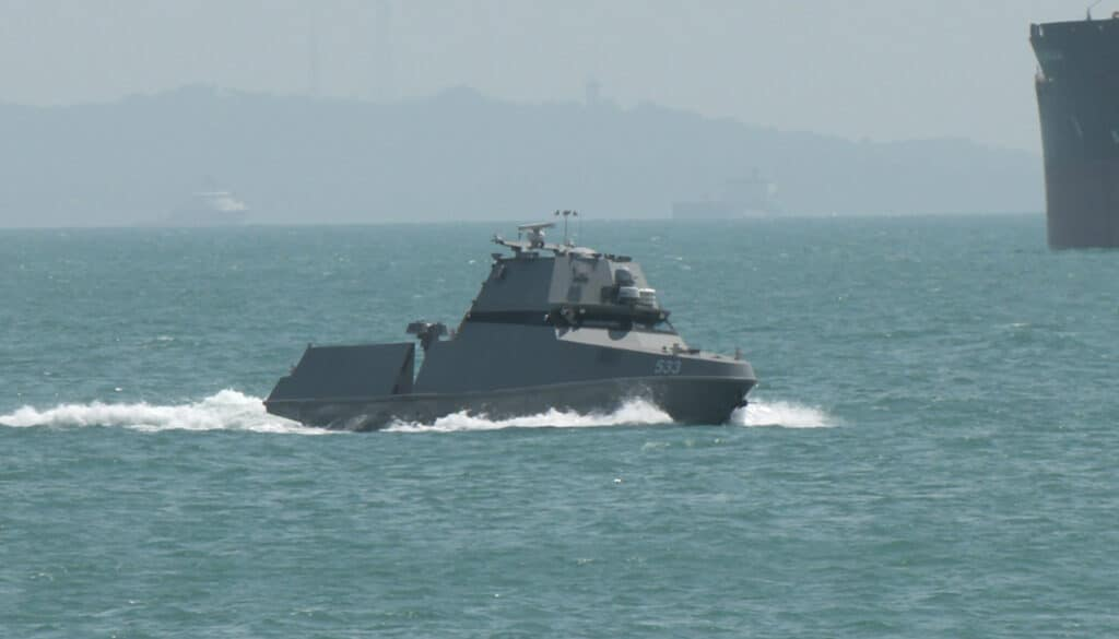 Republic of Singapore Navy's maritime security unmanned surface vessels