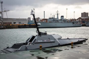 Royal Navy Take Control From Land Of Madfox Autonomous Vessel In Latest Trials