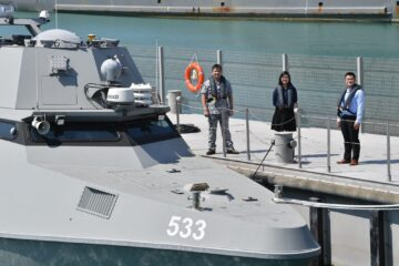 Meet Singapore's New Maritime Security Unmanned Surface Vessels