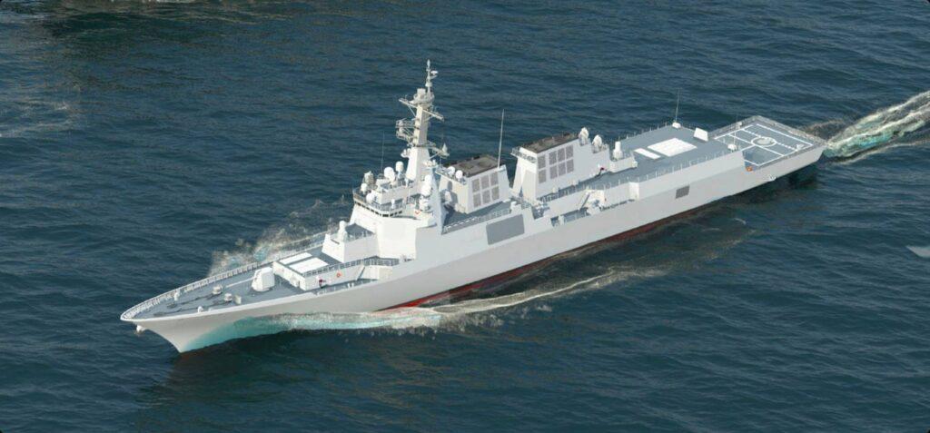 South Korea's HHI New KDX III Batch II Destroyer for ROK Navy