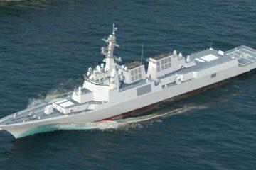 South Korea's HHI Cut Steel of New KDX III Batch II Destroyer for ROK Navy