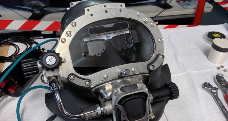 US Navy Teams with NASA to Test Next-Generation DAVD Helmet Upgrades