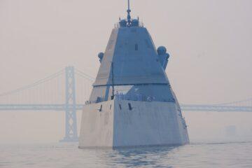US Navy's Zumwalt-class Destroyers Update with NAVSEA
