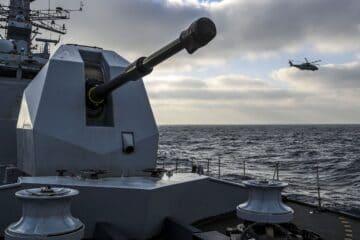 Babcock awarded 5 year contract extension for Royal Navy 4.5 medium calibre gun