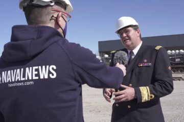Video: Admiral de Beurme on Belgian Navy MCM and Frigate programs