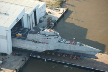 Austal USA Launched the 30th Littoral Combat Ship for the US Navy