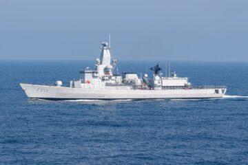 Belgian Navy's Leopold I frigate joined Operation AGENOR
