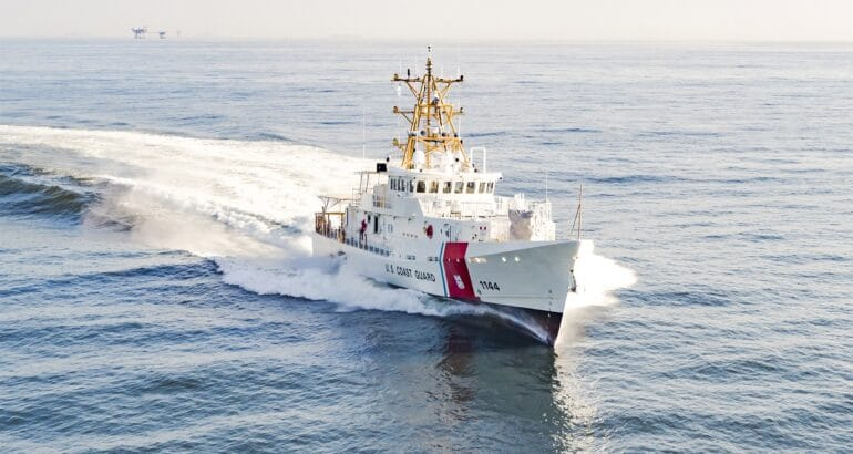 USCGC GLEN HARRIS is the third of six cutters destined for overseas operations in Manama, Bahrain