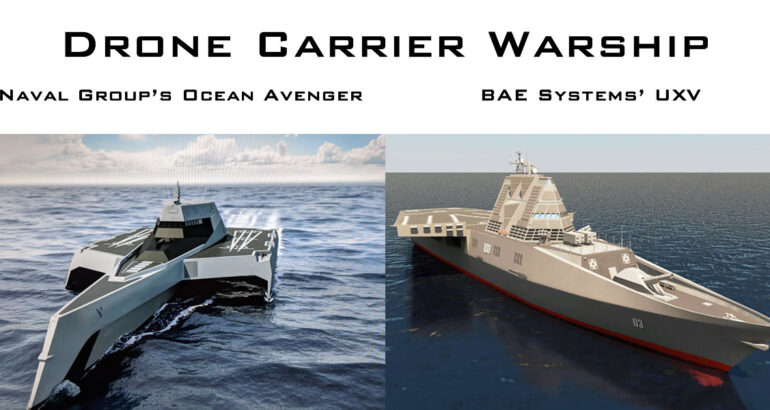 Is it Time for the U.S. Navy to Build the Drone Carrier Warship?