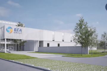 ECA's Group Mine Warfare Drone Factory Breaks Ground in Belgium