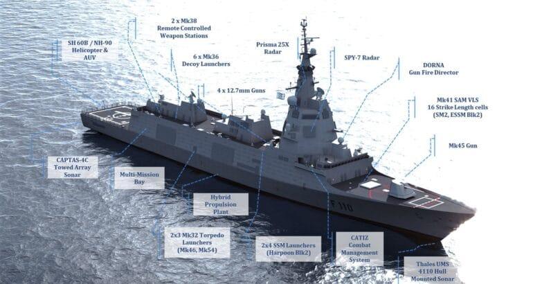 F110 Frigate Hellenic Navy Navantia