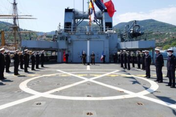 France takes command of NATO naval group for the first time