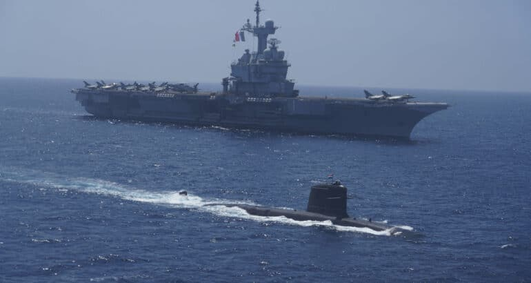 French Indian Naval Exercise VARUNA 2021