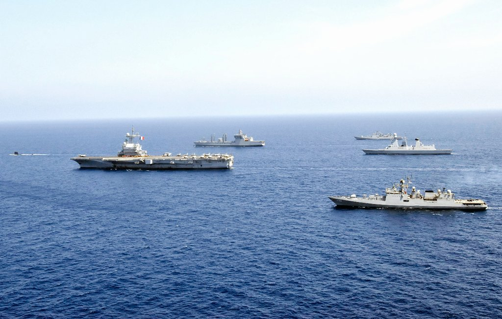 French Indian Naval Exercise VARUNA 2021 Concludes
