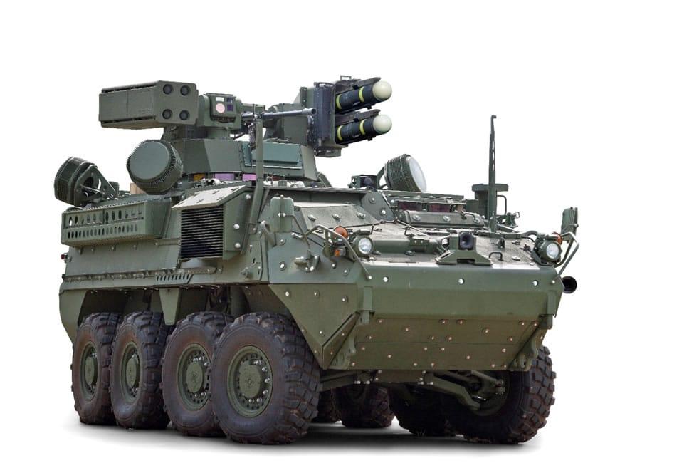 General Dynamics Land System's Initial Maneuver-SHORAD