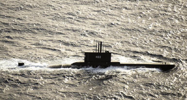 Indonesian Navy Submarine KRI Nanggala Reported Missing