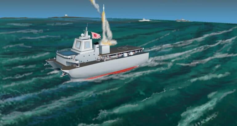 Japan JMSDF AEGIS Ashore Ship