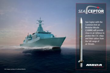 MBDA Confirms Sea Ceptor Order for Canadian Surface Combatant