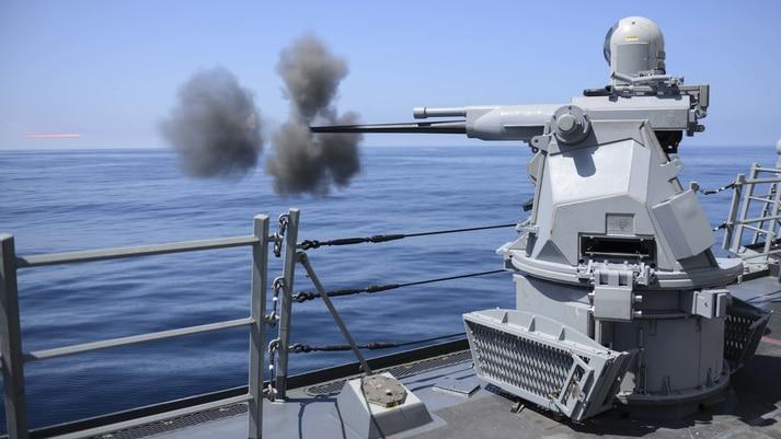 Mark 38 MOD 3 25mm gun