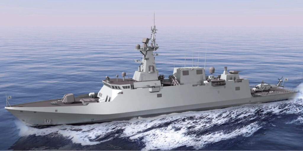 Navantia ALFA 3000 light frigate