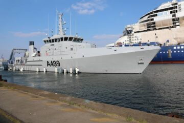 Nigerian Navy Takes Delivery of Hydrographic Research Vessel from OCEA