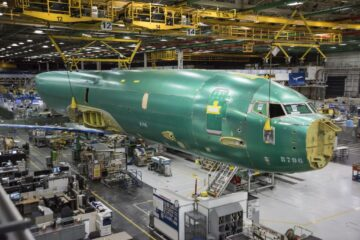 Norway's first P-8A Poseidon MPA arrived at Boeing facilities