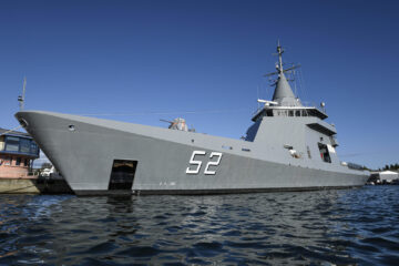 OPV 87 A.R.A. Piedrabuena handed over to Argentine Navy