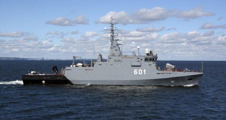 Polish Navy Kormoran MCM Vessel