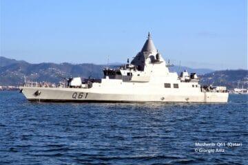 Qatar's New Musherib-class OPV Starts Sea Trials