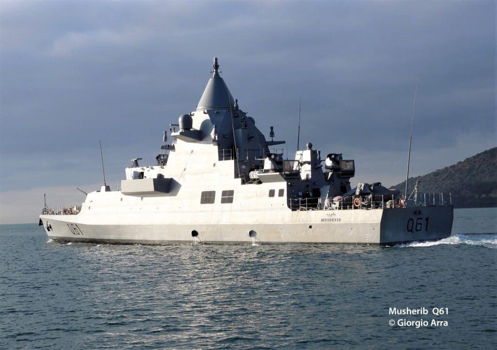 The first OPV for Qatar Emiri Navy