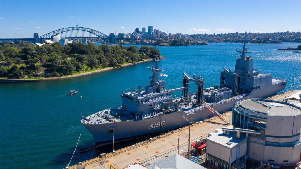 Royal Australian Navy Commissions HMAS Supply AOR