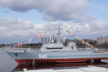 Russia' Sredne-Nevsky shipyard Launches 6th Alexandrit-class MCM Vessel
