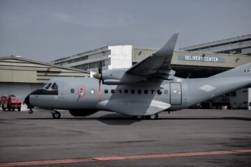 Senegal took delivery of first CN-235 Maritime Patrol Aircraft