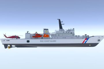 Rolls-Royce delivers new 16-cylinder version of mtu Series 8000 for Taiwan Coast Guard