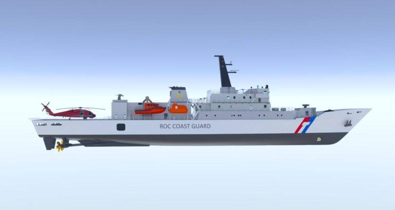 Taiwan Coast Guard 1000-ton class vessel CSBC