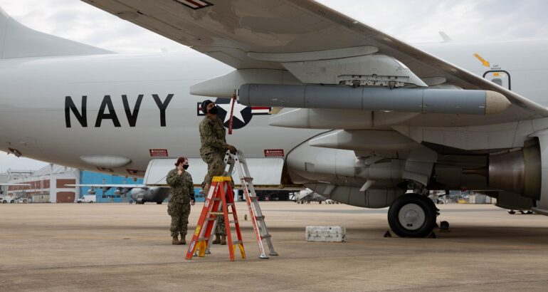 US Navy Completes Airworthiness Test of Pod-Mounted Towed Decoy for P-8A MPA