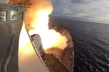 USS John Finn Hits Target Tracked by Unmanned System with SM-6
