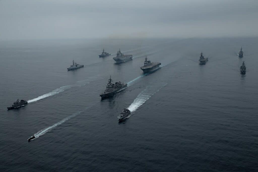 ARC 21 RAN JMSDF Marine Nationale US Navy