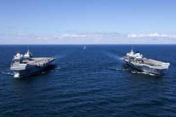 Both Royal Navy Aircraft Carriers Sailed Together for the First Time